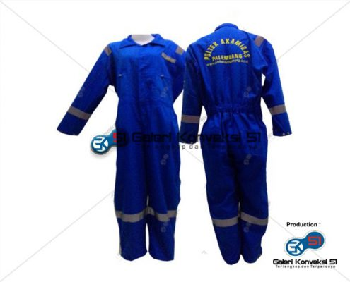 Konveksi Wearpack Coverall Safety Poltek