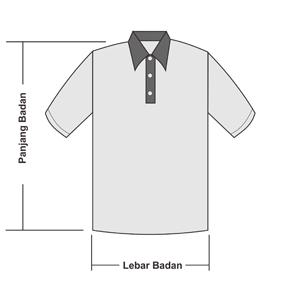Size Chart Ukuran Polo Shirt