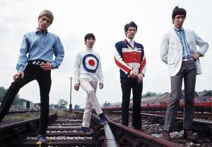 Blazer dikenakan Personel The Who
