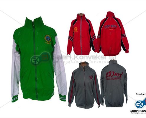 Konveksi Jaket Training