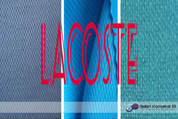 Jenis Kain Lacoste