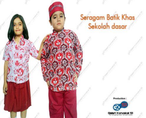 Konveksi Seragam Batik SD