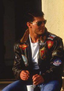 Jaket Bomber G1 Tom Cruise Top Gun