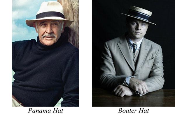 Jenis Topi Panama dan Boater